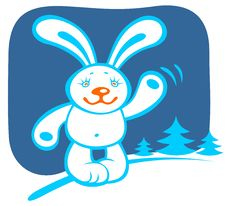 Free Cartoon Rabbit Stock Images - 6752774