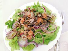 Free Seafood Salat Royalty Free Stock Photos - 6752968