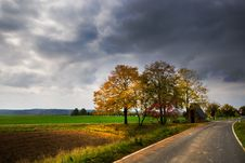 Free Autumn Landscape Royalty Free Stock Images - 6753049