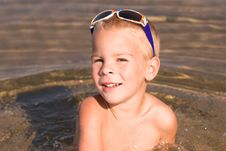 Free Young Boy With Sunglasses Stock Photos - 6753153