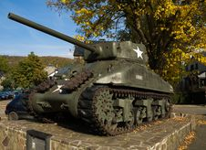 Free Tank In La Roche Royalty Free Stock Photos - 6753218
