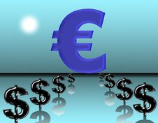 Free Big Euro Royalty Free Stock Images - 6753259