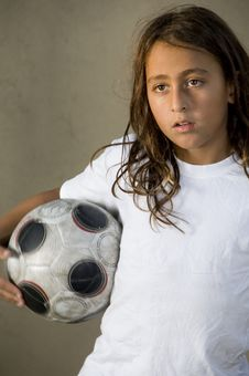 Free Young Football Player Royalty Free Stock Image - 6753816