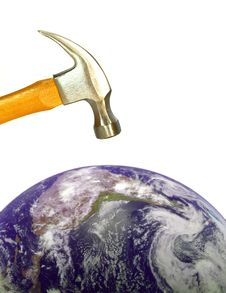 Free Earth Destruction Stock Image - 6753921