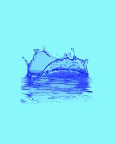 Blue Water Stock Photos