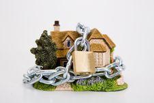 Free Beautiful Locked House Royalty Free Stock Photo - 6754155