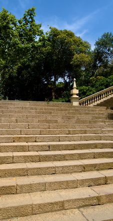 Free Park Stairs Royalty Free Stock Photo - 6754795