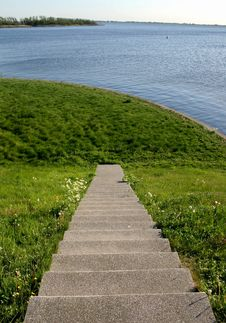 Free Stairs In The Nature Stock Photos - 6755263