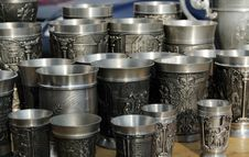 Free Antique Cups Stock Image - 6755381