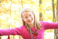 Free Happy Autumn Portait Royalty Free Stock Photography - 6755487