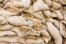 Free Wall Of Sandbags Stock Image - 6755581