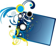 Free Blue Banner Stock Photography - 6755632