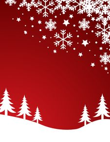 Free Christmas Background Vector Royalty Free Stock Photography - 6755797