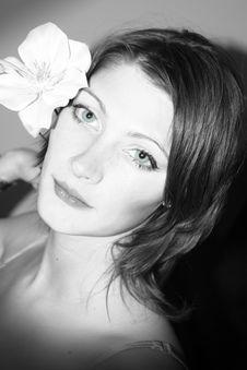 Free Romantic Girl Stock Image - 6755851