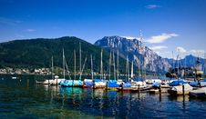 Free Yacht Club In The Alps Royalty Free Stock Photography - 6756277
