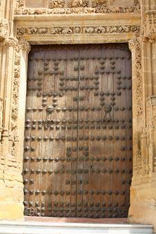 Free Door In Seville, Spain Royalty Free Stock Photo - 6756455