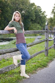 Free Beautiful Teenage Girl Royalty Free Stock Image - 6756586