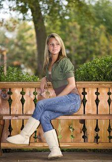 Free Beautiful Teenage Girl Royalty Free Stock Image - 6756656