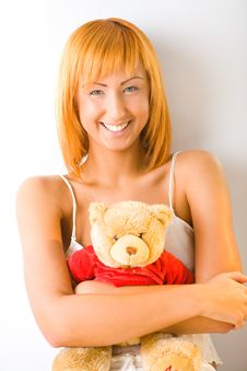 My Teddy Royalty Free Stock Photo