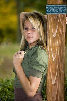 Free Beautiful Teenage Girl Royalty Free Stock Photography - 6756717