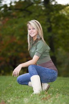 Free Beautiful Teenage Girl Royalty Free Stock Images - 6756729