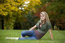 Free Beautiful Teenage Girl Royalty Free Stock Image - 6756736