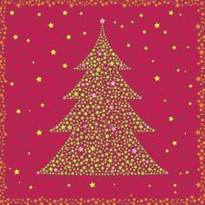 Free New Year Christmas Tree Seamless Royalty Free Stock Image - 6756766
