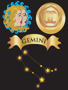Free Zodiac Sign Gemini Stock Images - 6757224