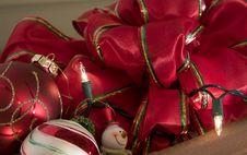 Free Christmas Basket Stock Image - 6757331