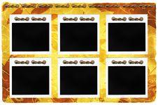 Free Autumn Background (polaroid) Stock Images - 6757544