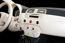 Free Retro Car Dashboard Stock Photography - 6757952
