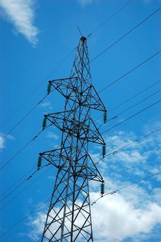 Free Electricity Tower Stock Photos - 6758063