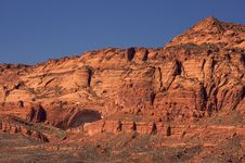 Red Rocks Of Utah Stock Photo