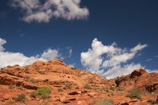Free Red Rocks Of Utah Royalty Free Stock Photography - 6758837