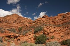 Red Rocks Of Utah Stock Images