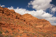 Free Red Rocks Of Utah Royalty Free Stock Photos - 6758848