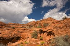 Red Rocks Of Utah Royalty Free Stock Photography