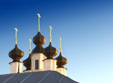 Cupola Of Christian Church Royalty Free Stock Photos