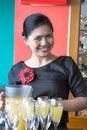 Free Waitress Making Drink Royalty Free Stock Photography - 6769497