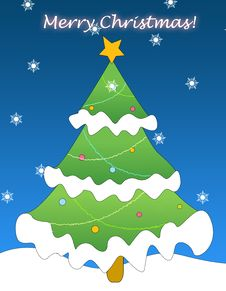 Free Christmas Greeting Stock Photos - 6760023