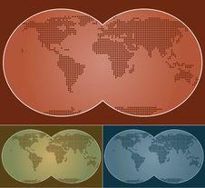 Free World Map Royalty Free Stock Image - 6760056