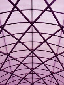 Geometric Roof Structure Stock Images