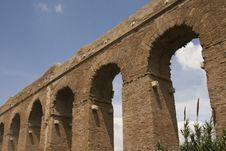 Free Rome: Alessandrino Aqueduct Royalty Free Stock Photos - 6760328