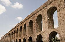 Free Rome: Alessandrino Aqueduct Royalty Free Stock Image - 6760606