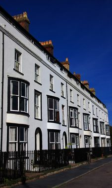 Free Period Housing Row Royalty Free Stock Images - 6760859