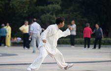Free Chinese Wushu-taiji Stock Photos - 6761043