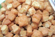 Free Fried Tofu Royalty Free Stock Photo - 6761135