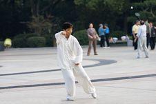 Free Chinese Wushu-taiji Stock Image - 6761141