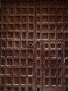 Free Old Door Royalty Free Stock Photo - 6761325