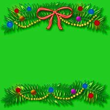 Free Christmas Scrapbook Frame Stock Photo - 6761380